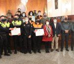 La Subdelegada del Gobierno agradece a Policía Local y Protección Civil su labor durante la pandemia del COVID-19