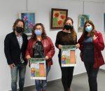 Más de 50 obras dedicadas a la primavera y al libro se reúnen en la cuarta muestra 'Pint-Arte'