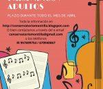 El Conservatorio Elemental de Música ofrece plazas para niños y adultos.