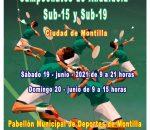 Más de 100 deportistas participan en Montilla en el Campeonato de Andalucía de Badminton sub15 y sub19