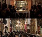 Entrevista: La Unión une sus instrumentos a las voces de las Clarisas en un canto litúrgico.