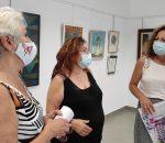 Pint-Arte inaugura una exposición con la participación de artistas montillanos y lucentinos