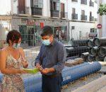 Las obras de Puerta de Aguilar dejarán concluido el tramo desde el Ayuntamiento a calle Palomar