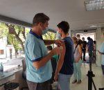 25 personas se acercaron en Montilla a recibir la primera dosis de vacuna sin cita