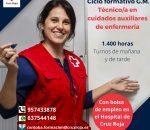 Cruz Roja Córdoba lanza un nuevo ciclo formativo de auxiliares de enfermería