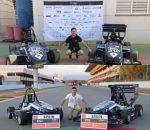 Los montillanos Pablo Mesa y Alejandro Lucena ingenieros del equipo ARUS en la 'Formula Student'