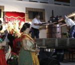 La Virgen de las Viñas preside de forma excepcional en Bodegas Navarro una Fiesta de la Vendimia atípica