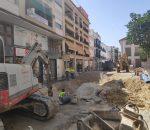 Las obras de Puerta de Aguilar cortarán el acceso a calle Palomar y Ortega