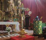 El Monasterio de Santa Clara celebra los cultos en honor al Padre de Familias