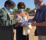 El Ayuntamiento recepciona la obra de mejora del Camino Viejo de Aguilar