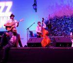 El Montijazz Vendimia se clausura con el swing de Zoot Suiters y bailarines de toda Andalucía