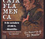 La 46ª Cata Flamenca se celebrará el sábado 9 de octubre en Cooperativa de La Aurora
